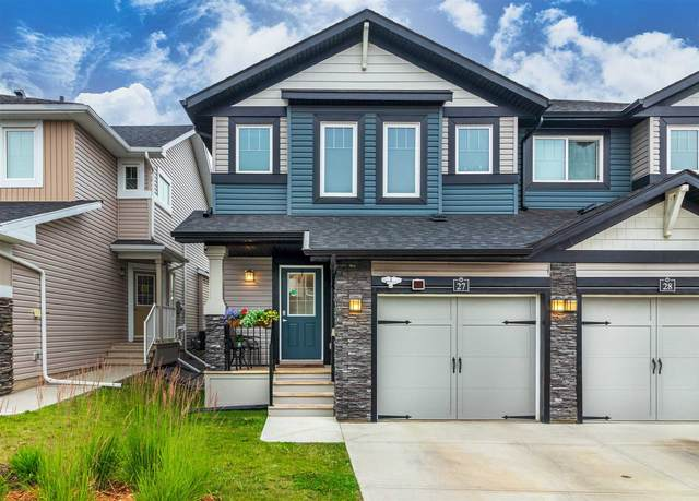 27 21 Augustine Crescent, Sherwood Park, AB T8H 0A8 (#E4255466) :: The Good Real Estate Company