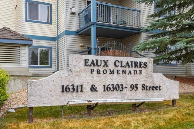 121 16303 95 Street, Edmonton, AB T5Z 3V1 (#E4255638) :: Müve Team   RE/MAX Elite