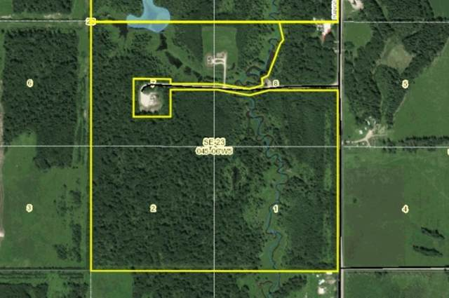 On Range Road 61, Rural Wetaskiwin County, AB T0C 0T0 (#E4255954) :: The Good Real Estate Company