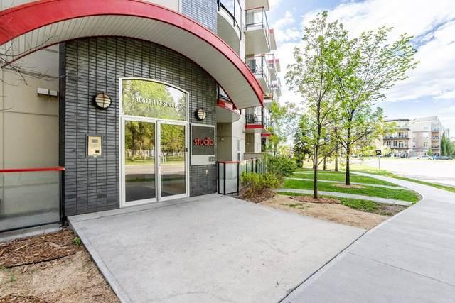 402 10611 117 Street, Edmonton, AB T5H 0G6 (#E4256233) :: Müve Team   RE/MAX Elite