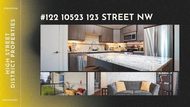 122 10523 123 Street, Edmonton, AB T5N 1N9 (#E4256380) :: Müve Team | RE/MAX Elite