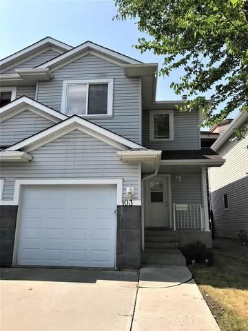 103 2021 Grantham Court, Edmonton, AB T5T 6V7 (#E4256419) :: The Good Real Estate Company