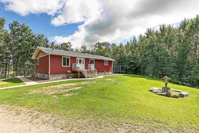 58301 Rr 13, Rural Barrhead County, AB T7P 2P4 (#E4256862) :: The Foundry Real Estate Company