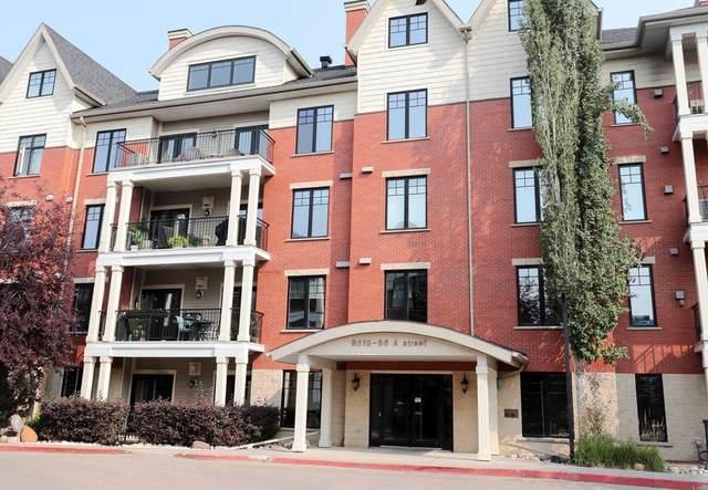 408 9819 96A Street, Edmonton, AB T6A 4A2 (#E4256963) :: Initia Real Estate