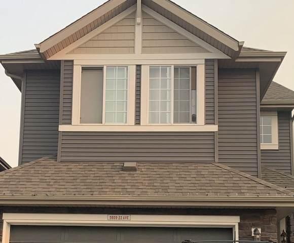 5609 22 Avenue SW, Edmonton, AB T6X 2C1 (#E4257205) :: Initia Real Estate