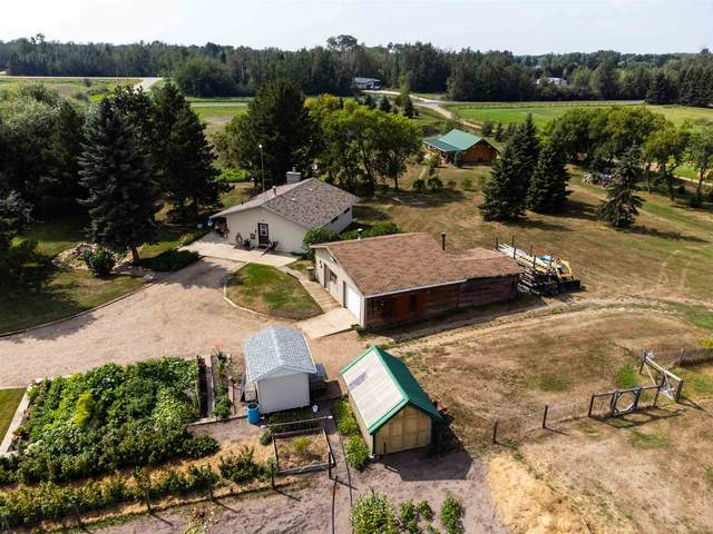 27326 Twp Rd 522, Rural Parkland County, AB T7X 3S2 (#E4257923) :: The Foundry Real Estate Company