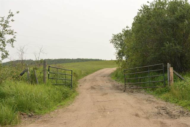 170023 Twp Rd 651, Rural Athabasca County, AB T0A 0R0 (#E4258570) :: The Good Real Estate Company