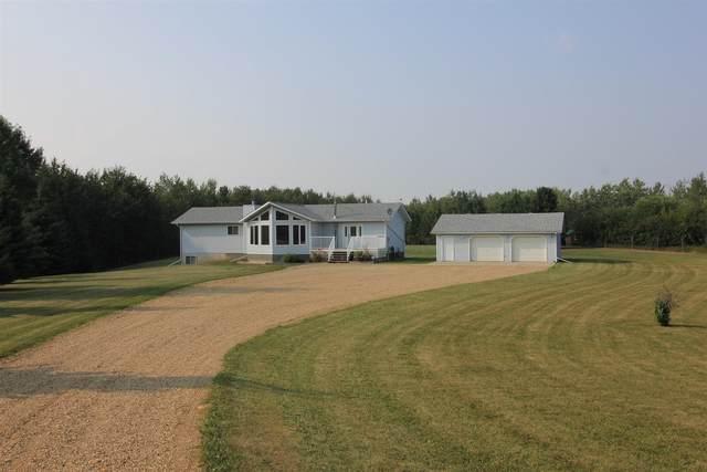 27 53417 14 Range Road, Rural Parkland County, AB T7V 0B5 (#E4258657) :: Müve Team   Royal LePage ArTeam Realty