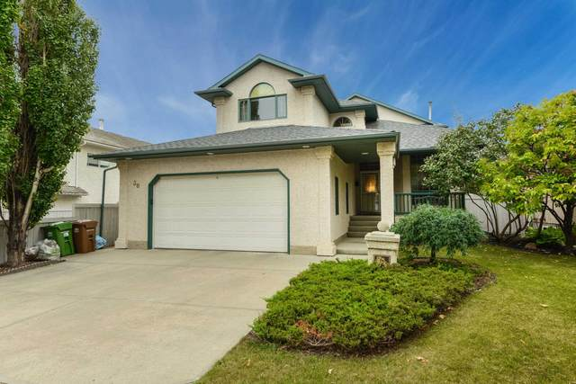30 Kenilworth Crescent, St. Albert, AB T8N 6J4 (#E4261077) :: The Foundry Real Estate Company
