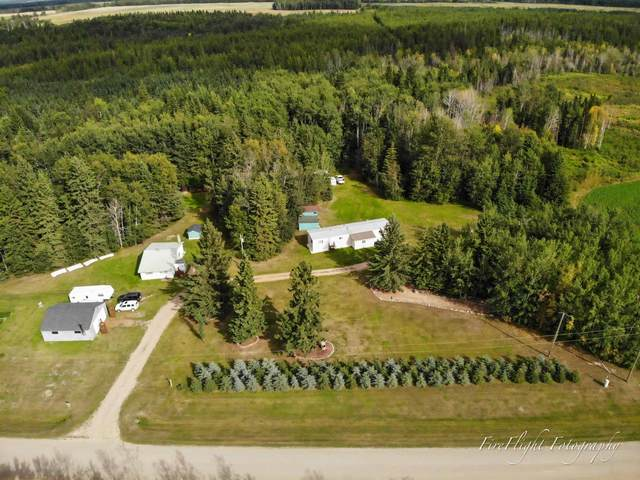 61319 Rr 234 Road, Rural Westlock County, AB T0G 1Z0 (#E4261192) :: The Good Real Estate Company