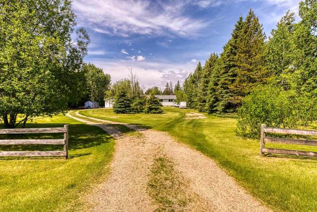 34 Valley View Road, Rural Wetaskiwin County, AB T0C 1Z0 (#E4261904) :: The Foundry Real Estate Company