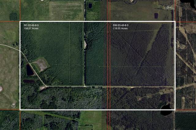 Twp Rd 492 & Range Rd 83, Rural Brazeau County, AB T7A 1S2 (#E4263175) :: The Foundry Real Estate Company
