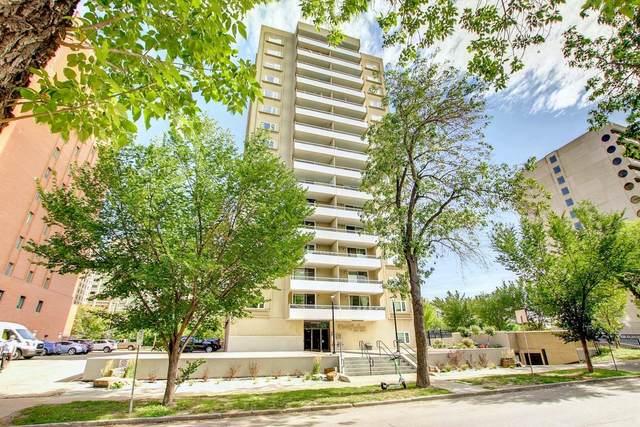 702 9909 110 Street NW, Edmonton, AB T5K 2E5 (#E4263297) :: Initia Real Estate