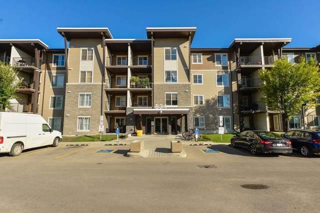 202 534 Watt Boulevard, Edmonton, AB T6X 1P7 (#E4263736) :: Initia Real Estate
