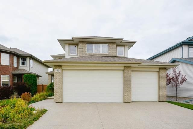 45 Nicola Road, St. Albert, AB T8N 7M7 (#E4263949) :: Initia Real Estate