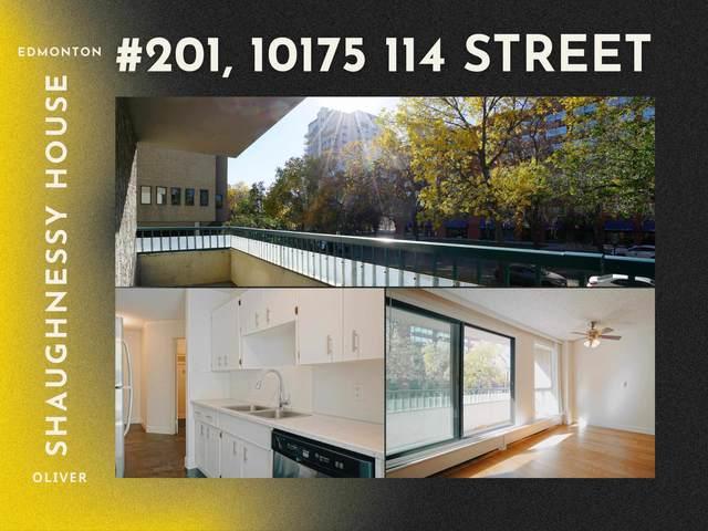 201 10175 114 Street, Edmonton, AB T5K 2L4 (#E4264692) :: Initia Real Estate