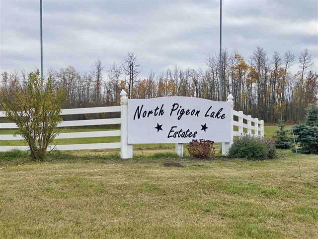#9 North Pigeon Lake Estates, Rural Wetaskiwin County, AB T0C 2C0 (#E4265016) :: Müve Team | Royal LePage ArTeam Realty