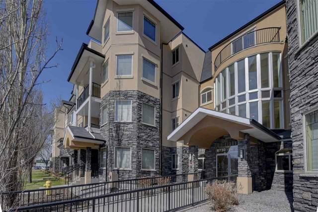 306 8730 82 Avenue, Edmonton, AB T6C 0Z1 (#E4265506) :: The Foundry Real Estate Company