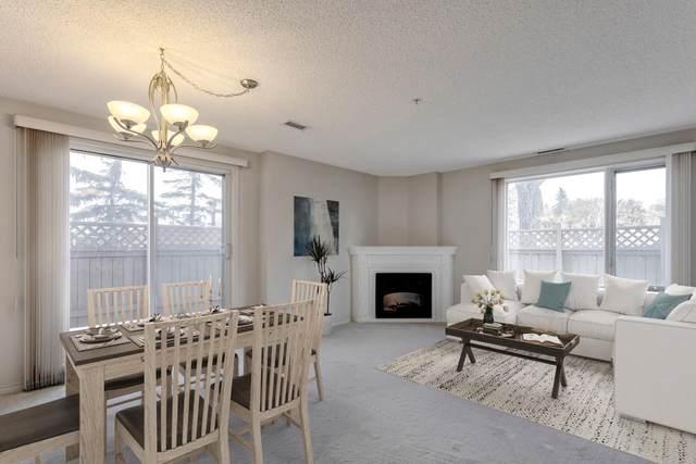 102 10649 Saskatchewan Drive, Edmonton, AB T6E 6S8 (#E4265960) :: The Foundry Real Estate Company