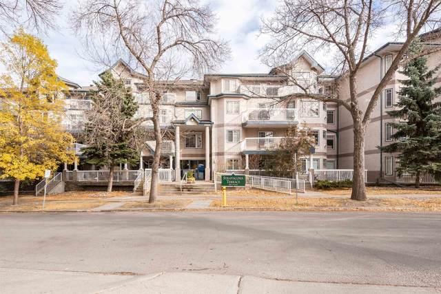 408 8909 100 Street NW, Edmonton, AB T6E 6T4 (#E4266170) :: The Foundry Real Estate Company