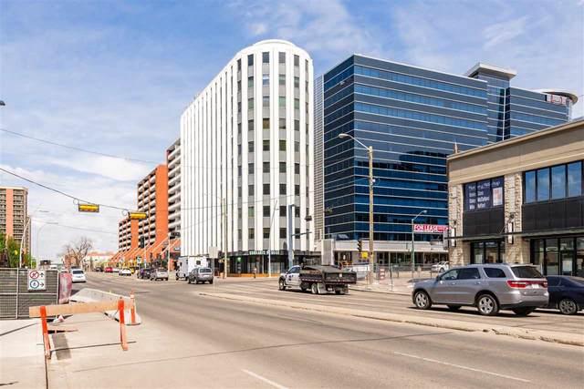 401 10105 109 Street, Edmonton, AB T5J 1M8 (#E4266610) :: The Good Real Estate Company