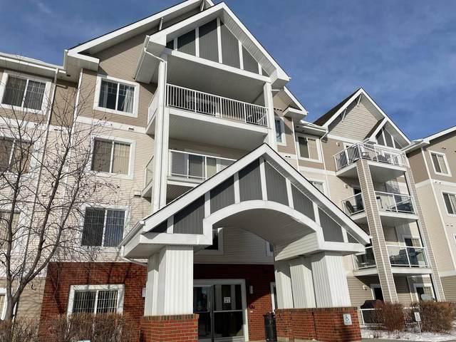 403 13830 150 Avenue, Edmonton, AB T6V 1X2 (#E4266780) :: The Good Real Estate Company