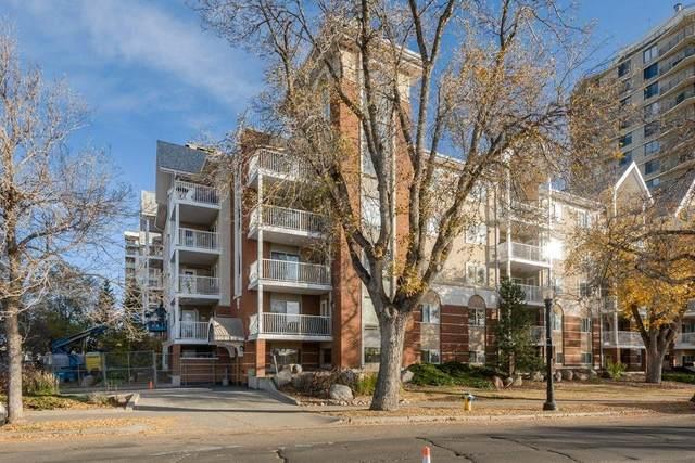215 11716 100 Avenue, Edmonton, AB T5K 2G3 (#E4266968) :: Initia Real Estate