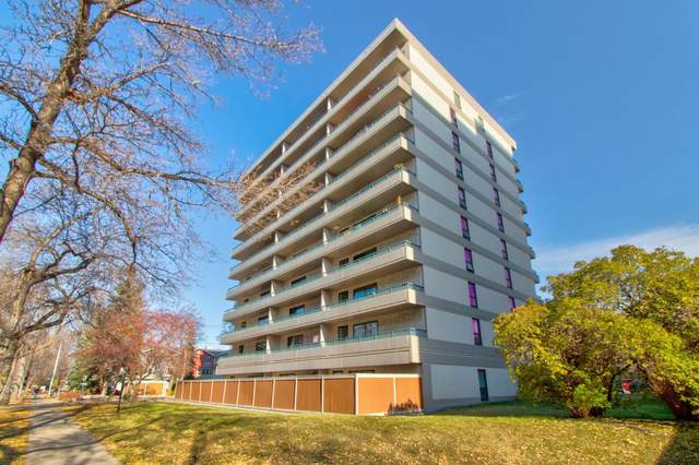 608 10175 114 Street, Edmonton, AB T5K 2L4 (#E4267100) :: Initia Real Estate