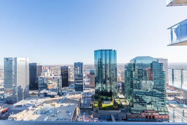 3703 10180 103 Street, Edmonton, AB T5J 0L1 (#E4267170) :: Initia Real Estate
