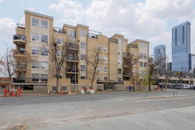 205 10606 102 Avenue, Edmonton, AB T5J 5E9 (#E4267186) :: Initia Real Estate
