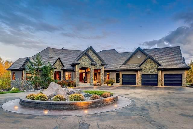 27509 Twp Rd 540, Rural Parkland County, AB T7X 3V6 (#E4267432) :: Initia Real Estate