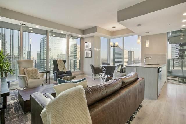 1904 10180 103 Street NW, Edmonton, AB T5J 0L1 (#E4267517) :: Initia Real Estate