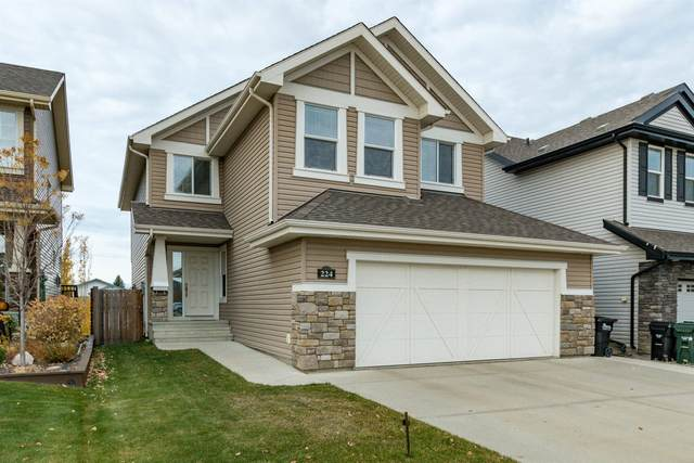 224 Campbell Point(E), Sherwood Park, AB T8H 0P4 (#E4267594) :: The Foundry Real Estate Company