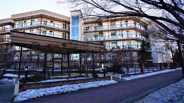 213 9507 101 Avenue, Edmonton, AB T5H 4R1 (#E4081379) :: GETJAKIE Realty Group Inc.