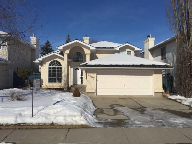 1067 Falconer Road NW, Edmonton, AB T6R 2C9 (#E4096406) :: The Foundry Real Estate Company