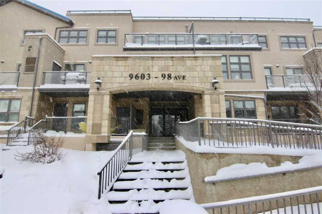 105 9603 98 Avenue, Edmonton, AB T6C 2E2 (#E4098990) :: GETJAKIE Realty Group Inc.