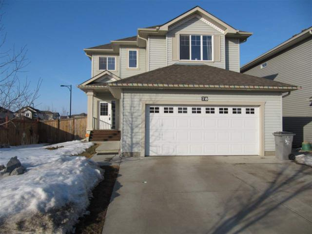 78 Rue Montalet Street, Beaumont, AB T4X 0C5 (#E4101101) :: The Foundry Real Estate Company