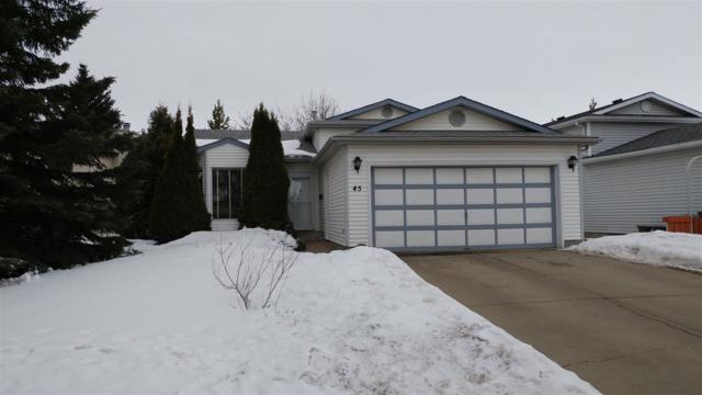 45 Deerbourne Drive, St. Albert, AB T8N 4R2 (#E4105021) :: The Foundry Real Estate Company