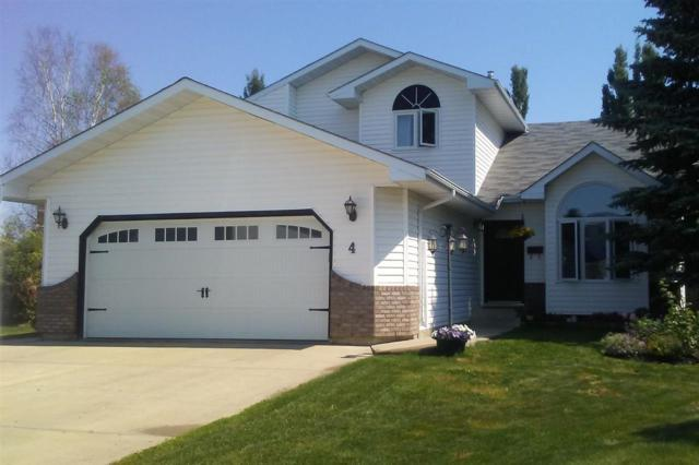 4 Heartwood Close, Stony Plain, AB T7Z 1M1 (#E4116225) :: The Foundry Real Estate Company