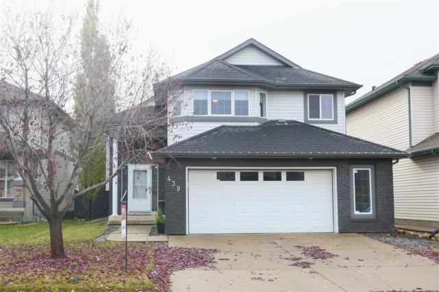 439 Byrne Crescent, Edmonton, AB T6W 1E2 (#E4129895) :: The Foundry Real Estate Company
