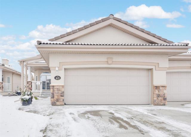 43 13808 155 Avenue, Edmonton, AB T6V 1T8 (#E4132268) :: The Foundry Real Estate Company