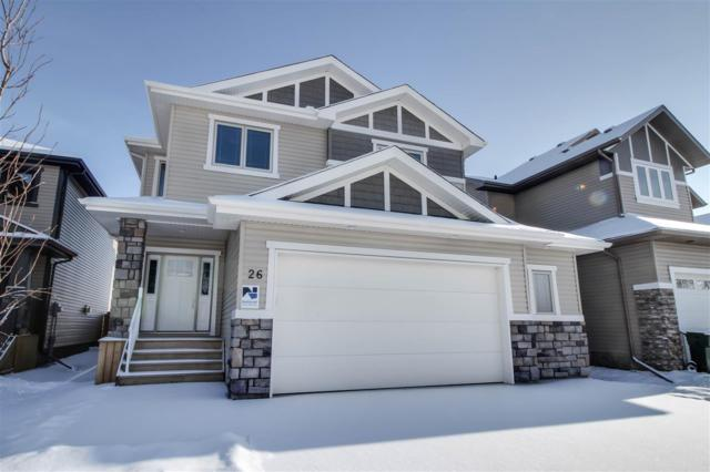 26 Dillworth Cr, Spruce Grove, AB T7X 0E6 (#E4140386) :: Müve Team | RE/MAX Elite