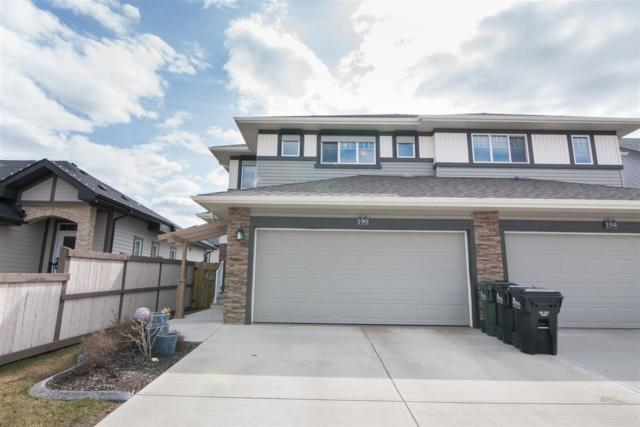 190 Sunterra Way, Sherwood Park, AB T8H 0T9 (#E4154840) :: David St. Jean Real Estate Group