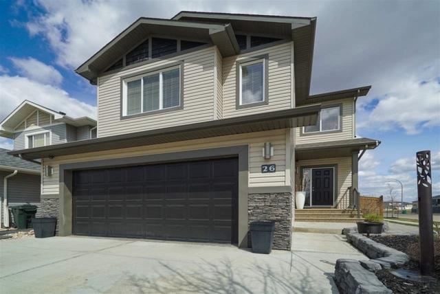 26 Hilldowns Drive, Spruce Grove, AB T7X 0J2 (#E4155651) :: The Foundry Real Estate Company