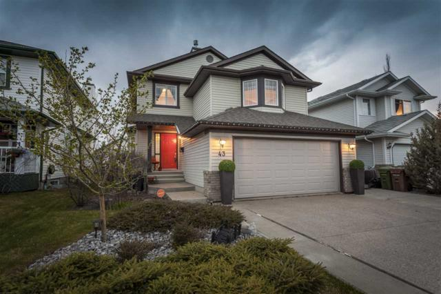 43 Newport Crescent, St. Albert, AB T8N 6Y9 (#E4156489) :: The Foundry Real Estate Company