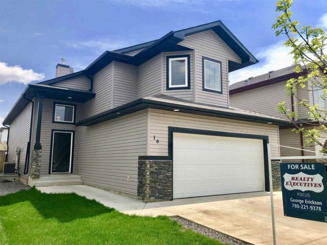 16 Lamplight Drive, Spruce Grove, AB T7X 4R3 (#E4156502) :: Mozaic Realty Group