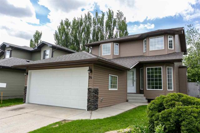 14 Oakridge Drive N, St. Albert, AB T8N 6C6 (#E4160568) :: David St. Jean Real Estate Group