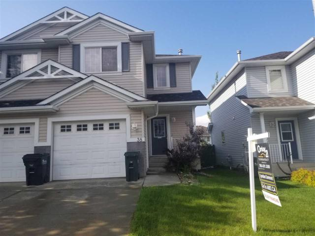 38 115 Chestermere Drive, Sherwood Park, AB T8H 2W4 (#E4161539) :: David St. Jean Real Estate Group