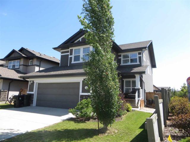48 Heatherglen Drive, Spruce Grove, AB T7X 4L2 (#E4162093) :: David St. Jean Real Estate Group