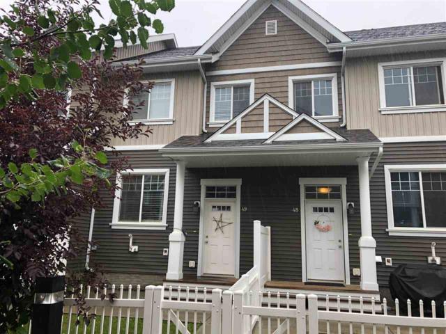 49 4050 Savaryn Drive, Edmonton, AB T6X 1R8 (#E4166290) :: The Foundry Real Estate Company